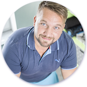 Physiotherapeut Florian Lieb
